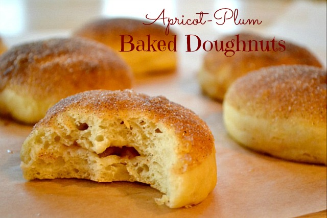 Apricot-Plum Baked Doughnuts