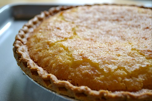 KITCHEN TESTED – Old Fashioned Buttermilk Chess Pie