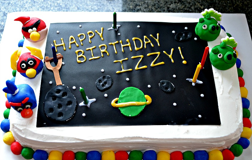 Happy Birthday Cake Immagini ~ Kitchen tested u angry birds space birthday cake