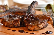 Coffee-Rubbed Lamb Chops Feature Photo