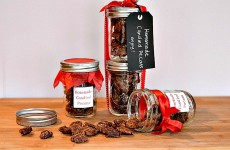 Homemade Candied Pecans Feature Photo