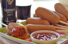 Guinness Corn Dogs