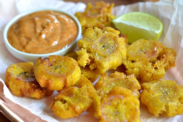 Home » Condiments » Tostones Two Ways