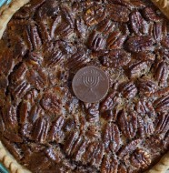 Thanksgivukkah Menu Chocolate Gelt Pecan Pie