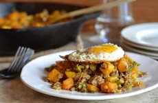 Veal and Brussels Sprout Hash