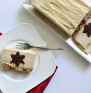 Chocolate Star Surprise Cashew Cheesecake (Gluten Free, Grain Free, Dairy Free)