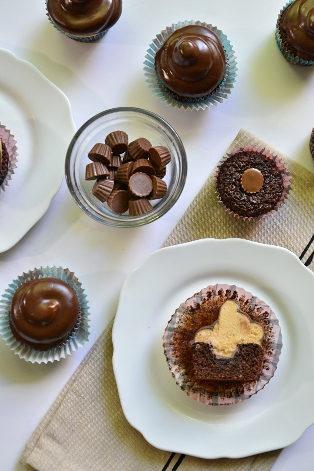 ... TESTED – Chocolate Peanut Butter Hi-Hat Cupcakes {Gluten Free