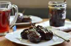 Candied Baby Eggplant