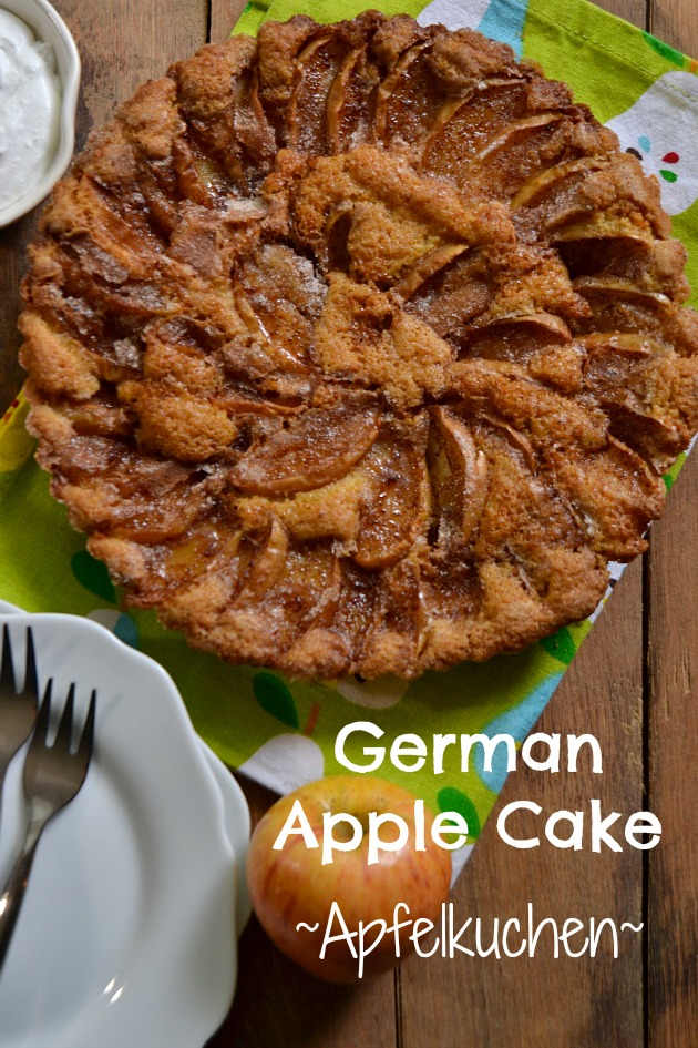 german apple cake. Black Bedroom Furniture Sets. Home Design Ideas