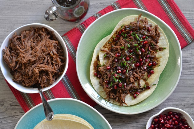 KITCHEN TESTED – Pomegranate Brisket Tacos