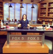 Fox 5 Good Day Street Talk- Cooking with Melinda Strauss