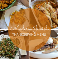 Modern Jewish Thanksgiving Menu on Thanksgiving.com