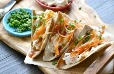 Crab Rangoon Tacos- Whole Wheat Wonton Dough