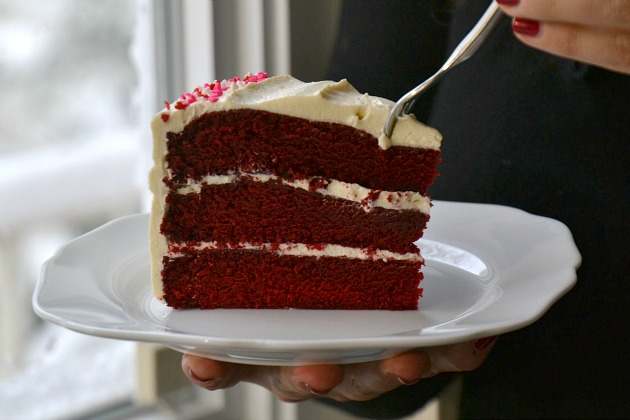 KITCHEN TESTED Classic Red Velvet Cake with OldFashioned White