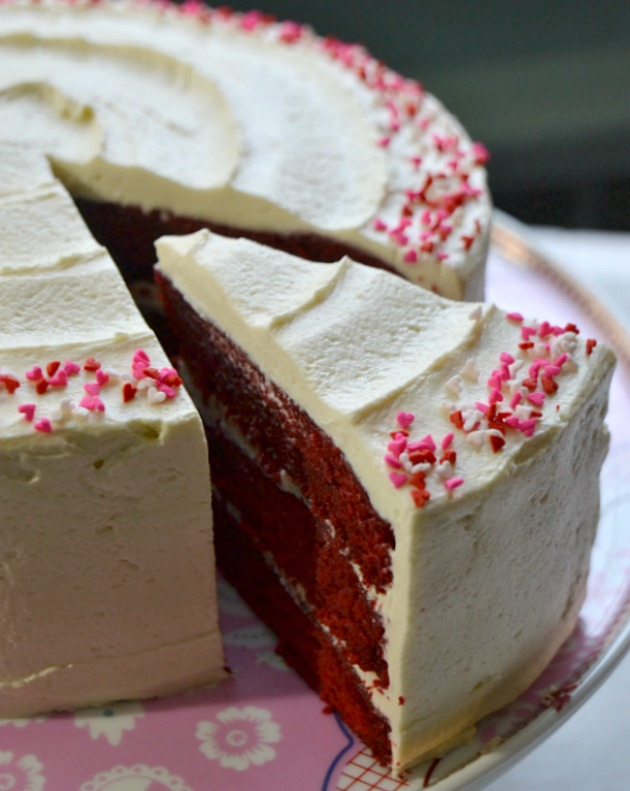 ... TESTED – Classic Red Velvet Cake with Old-Fashioned White Frosting