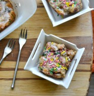 Funfetti Challah Bread Pudding