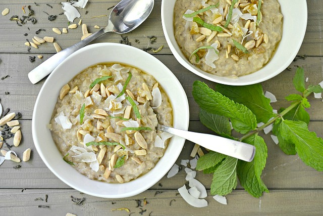 New Ways To Go Green With Tea: Green Tea Oatmeal