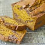 Pumpkin Date Swirl Bread
