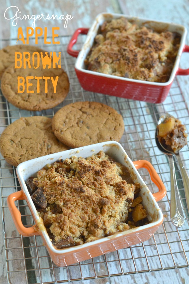 Gingersnap Apple Brown Betty