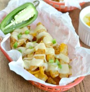 Triple Cheese Jicama Fries