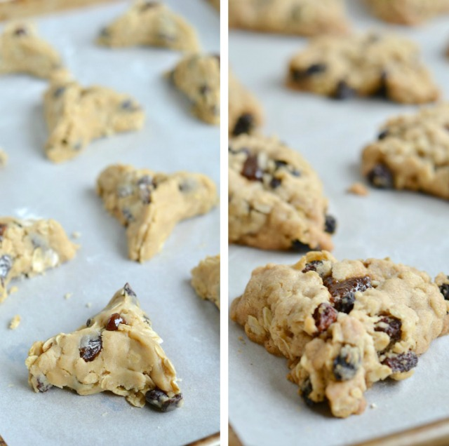 Oatmeal Raisin Hamantaschen