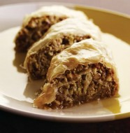 "kosher by design ""brings it home"" Halvah Baklava"