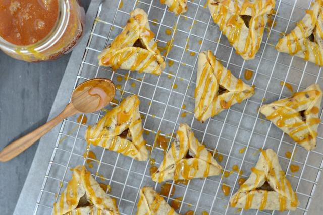Caramel Macchiato Hamantaschen