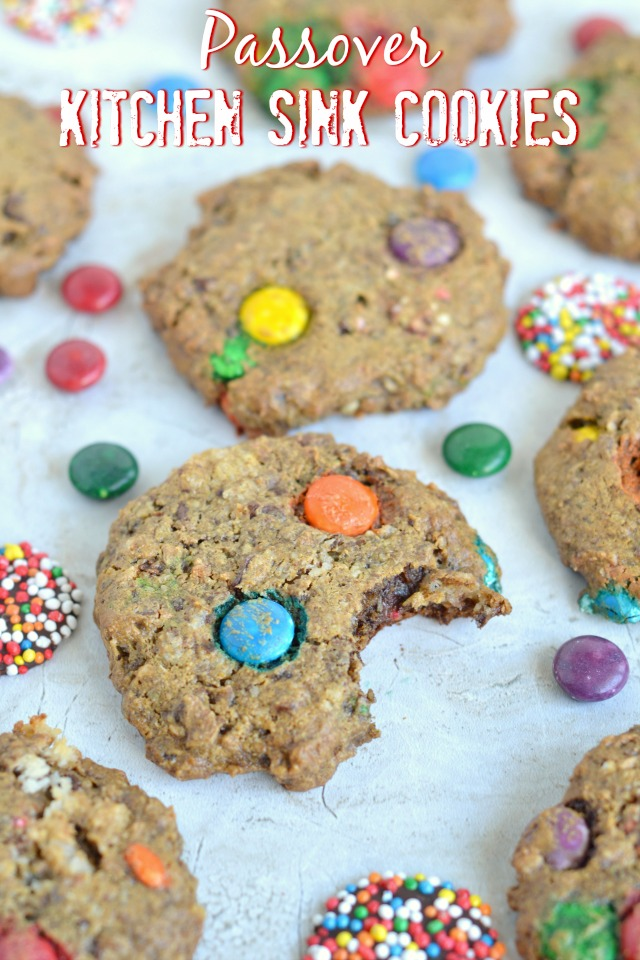 Passover Kitchen Sink Cookies