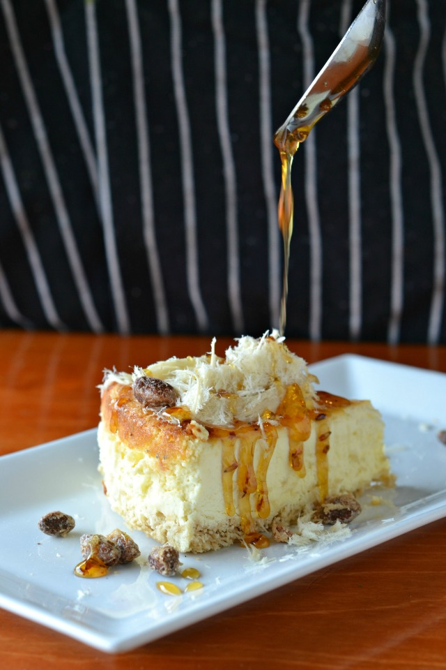 Halva Mascarpone Cheesecake from The Coffee Bar