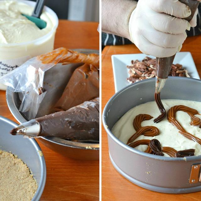 Chocomel Mascarpone Cheesecake from The Coffee Bar