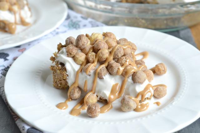 No-Bake Peanut Butter Puff Cheesecake
