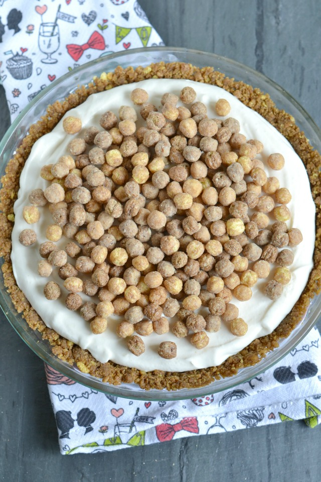 No-Bake Peanut Butter Puff Cheesecake