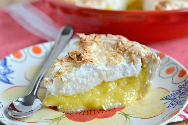 Coconut Pineapple Meringue Pie