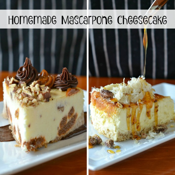 Homemade Mascarpone Cheesecake