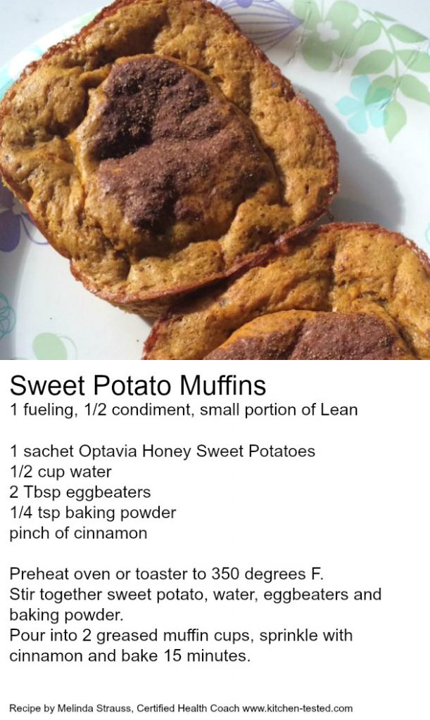 Optavia Sweet Potato Muffins