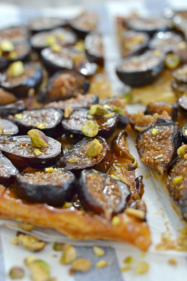 Fig and Honey Tarte Tatin