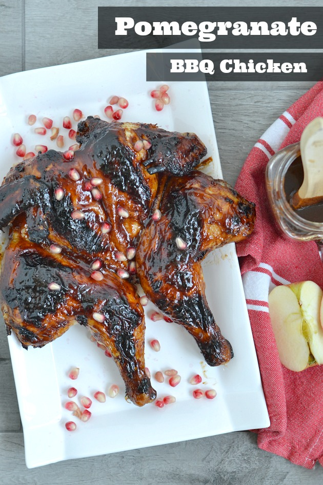 Pomegranate BBQ Chicken