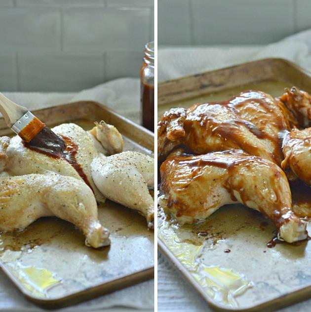 Pomegranate BBQ Chicken