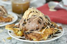 Latke Sundaes {from Molly On The Range}
