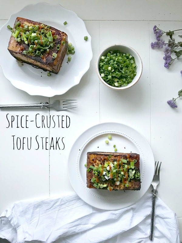 Spice-Crusted Tofu Steaks