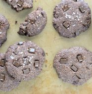 Gluten Free Chocolate Hazelnut Cookies