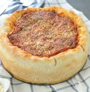 Kitchen Tested Deep Dish Pizza