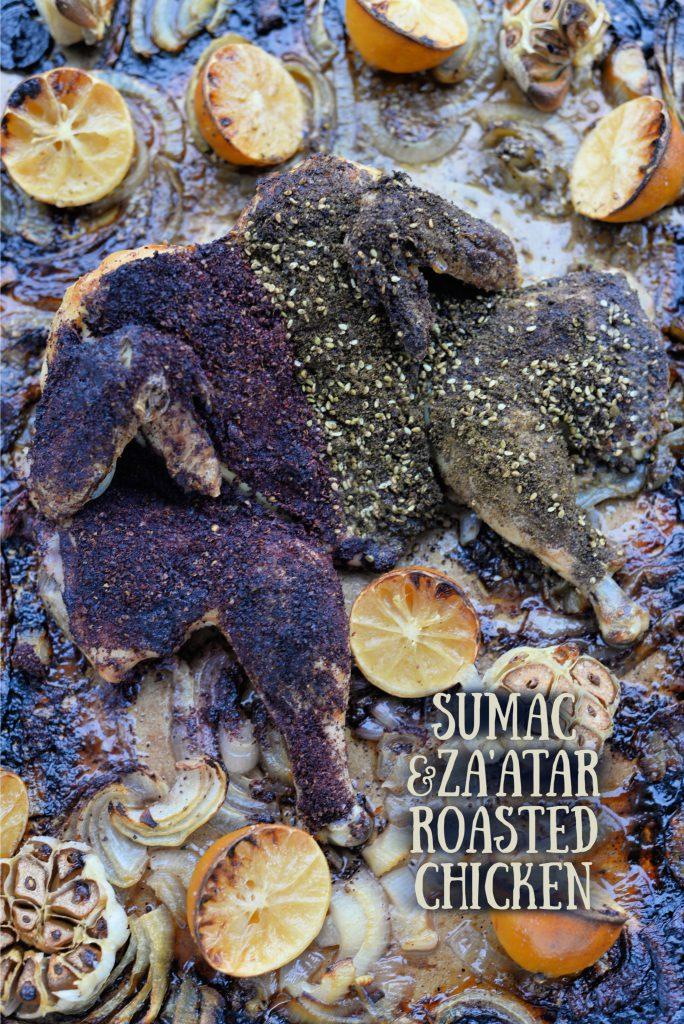 Sumac and Za'atar Roasted Chicken