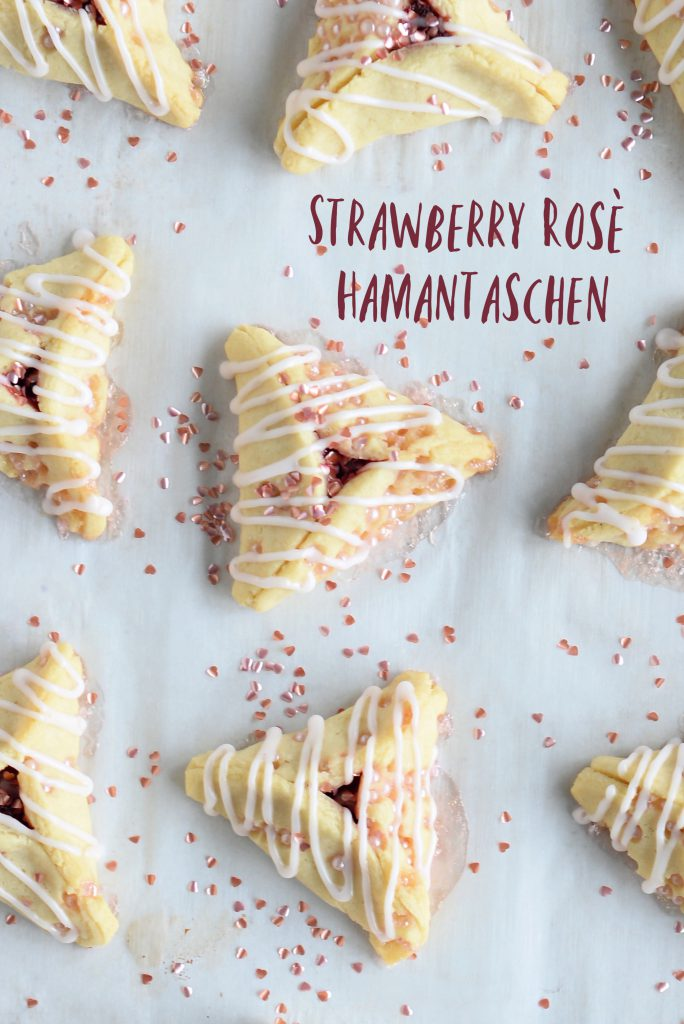 Strawberry Rosé Hamantaschen