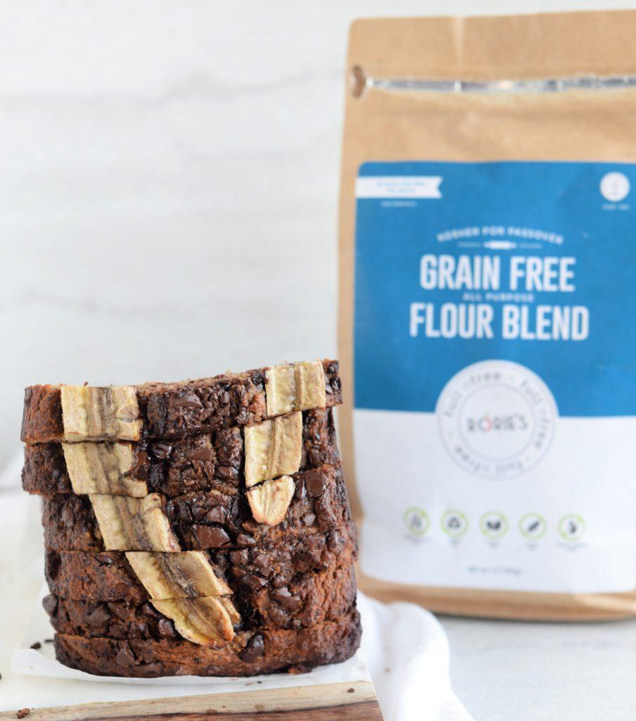 Grain Free Chocolate Chunk Banana Bread