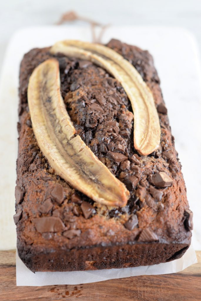 Grain Free Chocolate Chunk Banana Bread