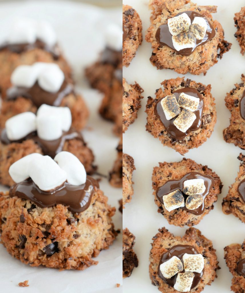 S'mores Coconut Macaroons