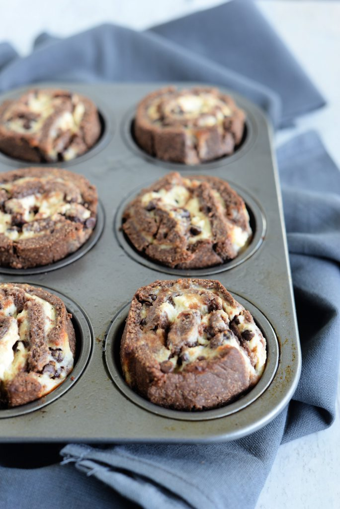 Gluten Free Chocolate Cheesecake Buns