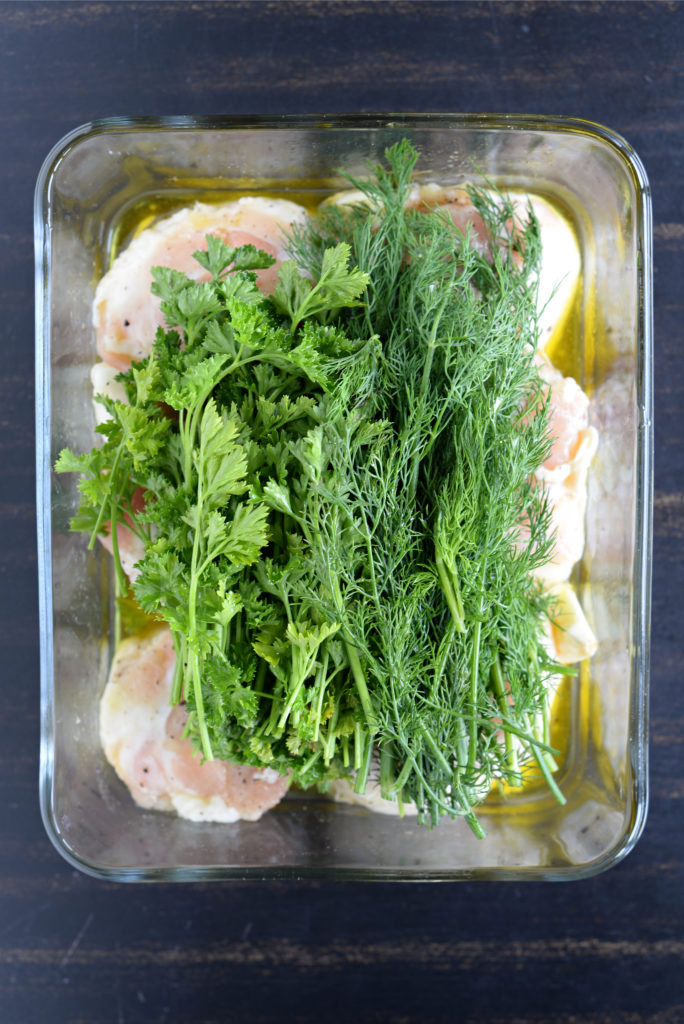 Herb Roasted Turkey Tushies